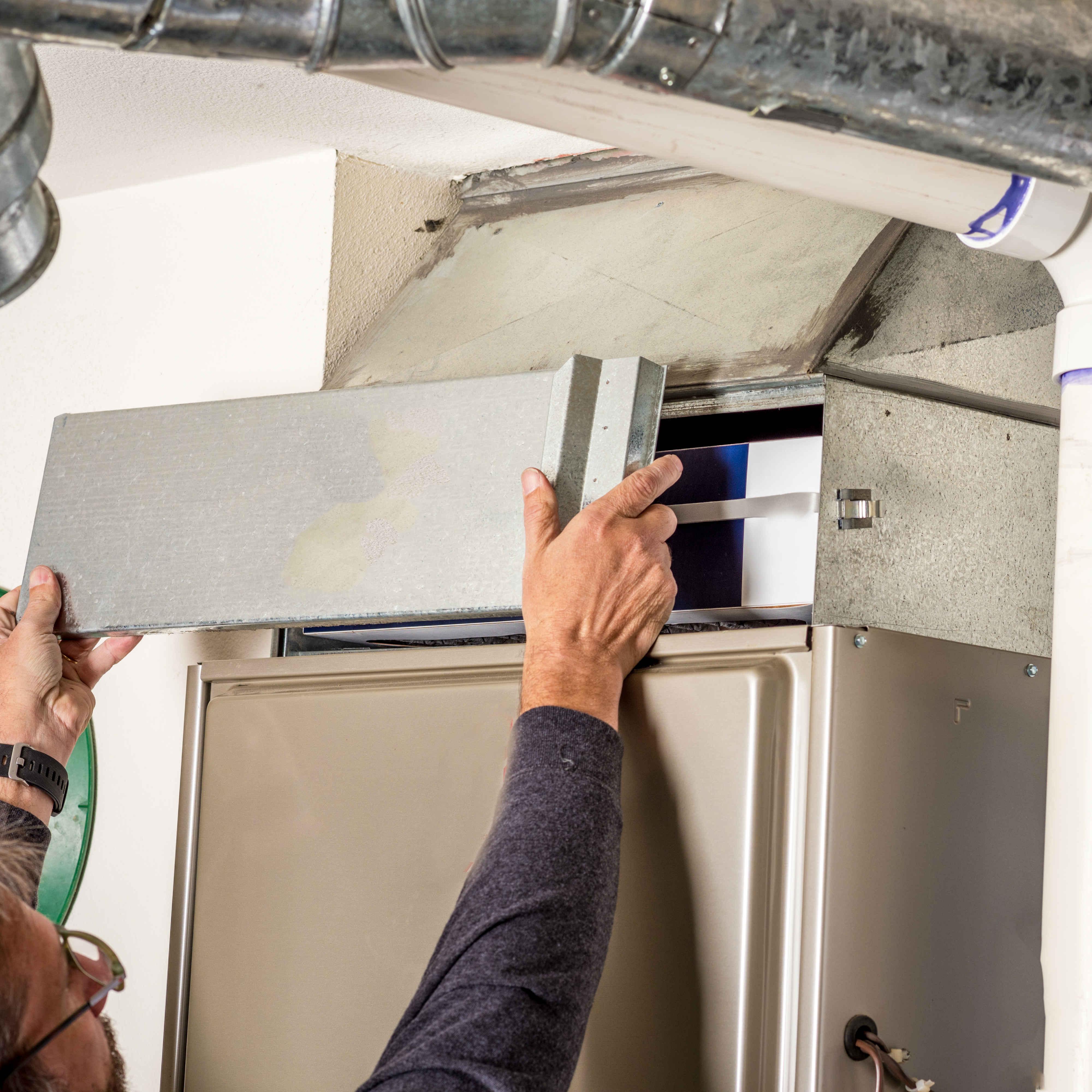 furnace troubleshooting interactive photo