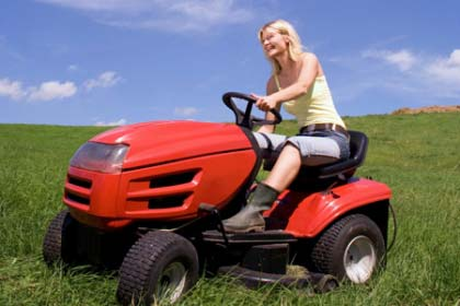 Riding lawn mower & lawn tractor repair services near me