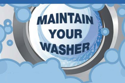 Maintain your washer
