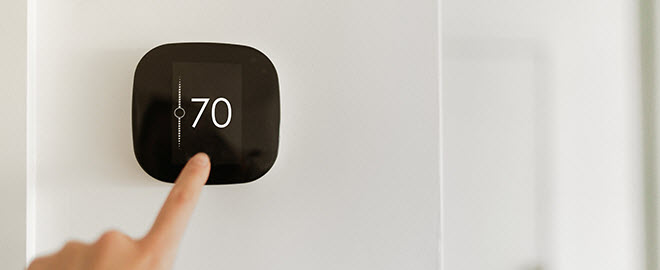 Energy-saving HVAC smart thermostat