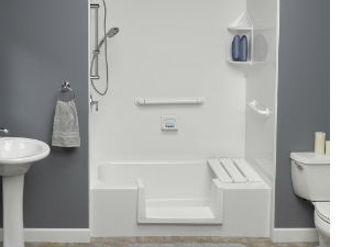 Safe Bathroom with Sears