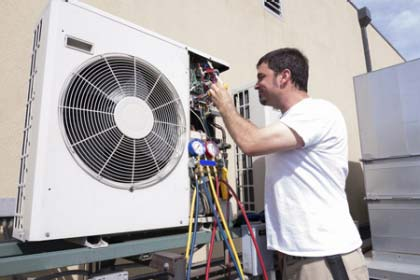 Self assessing heating and cooling systems