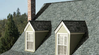 New roofing installation from Sears Home Services