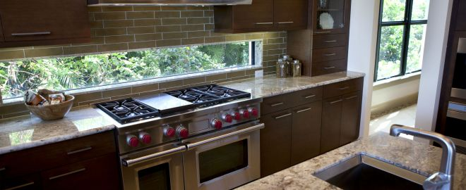 Consider the cabinets, countertop, flooring, and more that you'll need as part of your kitchen remodel.