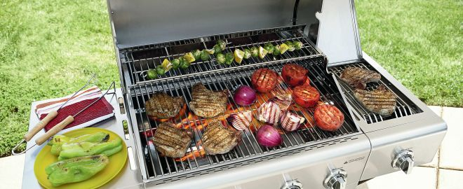 Gas grill safety tips