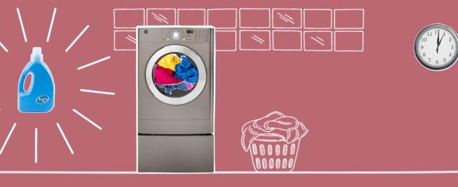 HE washing machine