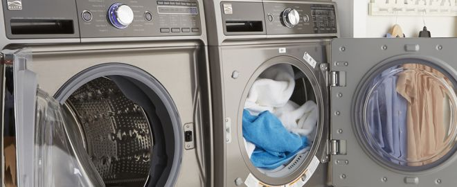 Kenmore Front-Load Washer and Dryer