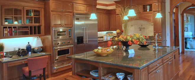 The Kitchen is the center of a home. The great ideas show how you can add value to your Kitchen.
