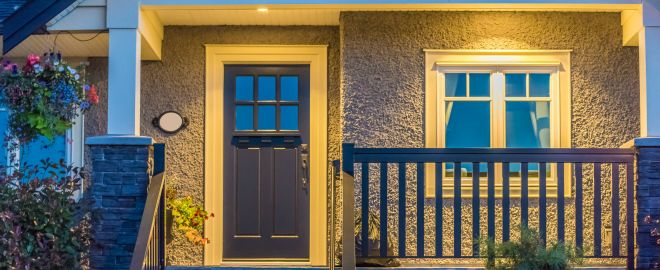 Entry doors can help seal in warmth to improve energy efficiency in your home