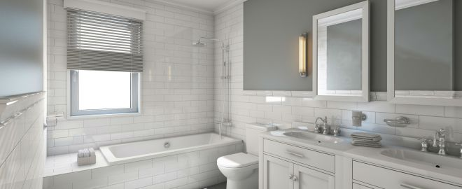 create a classic bathroom with these design tips