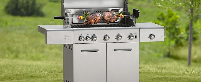 gas grill features