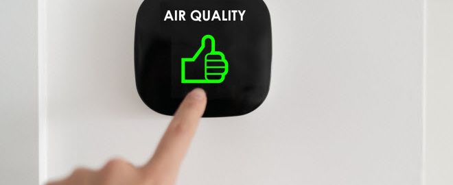 Your HVAC system can improve the air quality in your home.