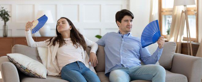 energy-efficient living room