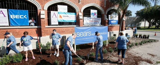 sears in the community