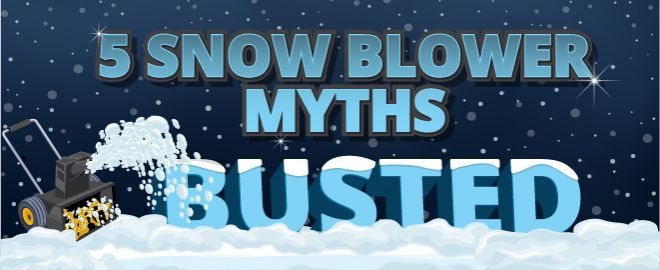 snow blower myths