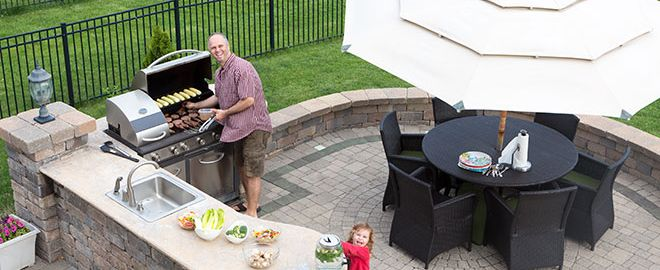how to create an outdoor kitchen at home  rh   searshomeservices com