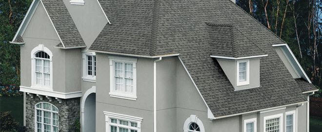 Large Roof with Shingles