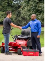 Riding mower maintenance