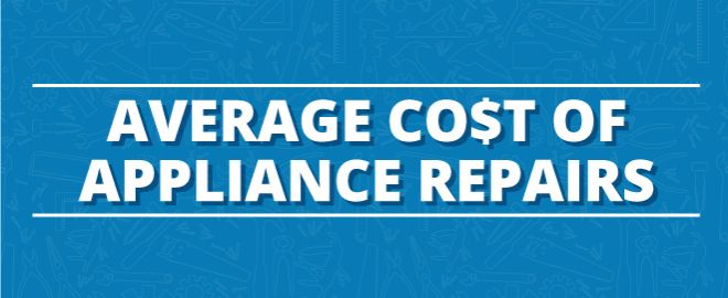 Cost of appliance repair
