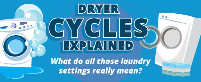 Laundry Myths busted, dryer edition