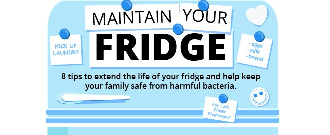 Refrigerator troubleshooting tips