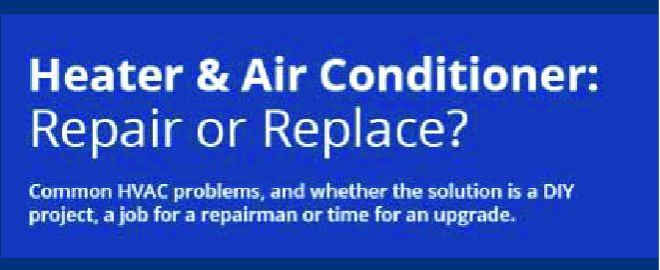 Common Heating and Air Conditioning Problems