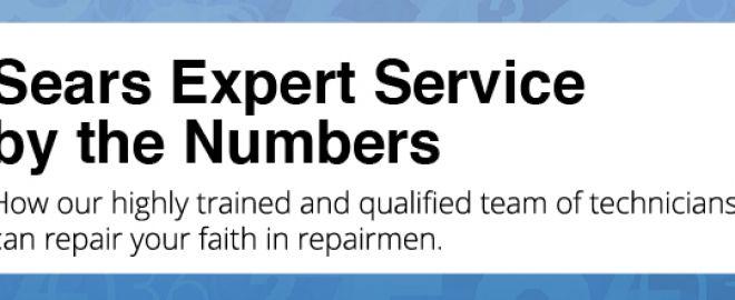 Repair men by the numbers at Sears