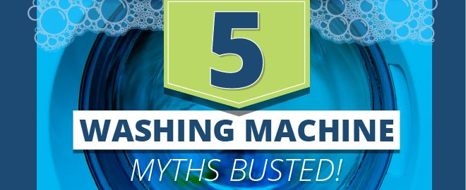 Laundry Myths busted, washing machine edition