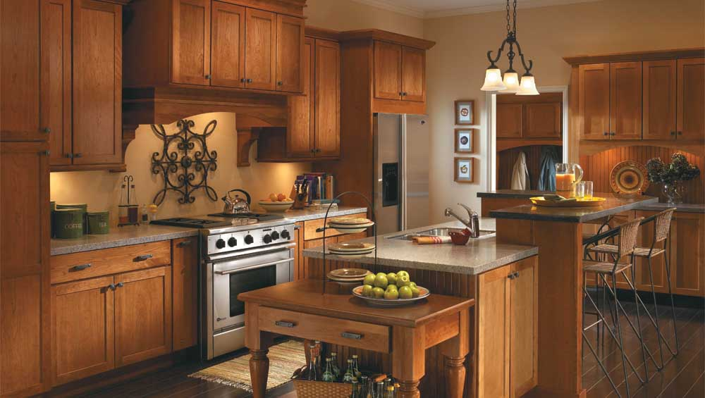 kitchen remodel including new floors countertops cabinets faucets and sinks - Sears Kitchen Cabinets