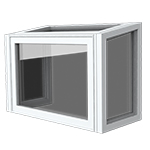 Garden Window - Also known as a Greenhouse window, adds light and display space. Often found in a kitchen above a sink.