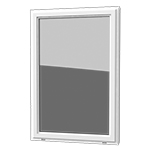 Picture Window - This window is a large single stationary window that adds beauty and maximizes a view.