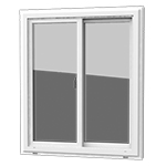 Double Slider - This slider offers two sashes that slide from side to side. Sliding windows are easy to clean and provide a sleek look.